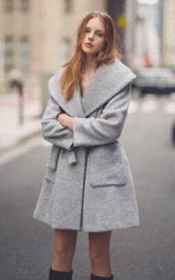 snidel SWFC164011 女士羊毛大衣