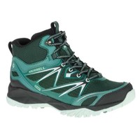 值友专享:MERRELL 迈乐 Capra Bolt Mid Waterproof 女款中帮防水登山靴
