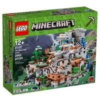 LEGO 乐高 Minecraft 我的世界系列 21137 山岭洞穴
