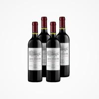 双11预售:LOS VASCOS 巴斯克酒庄 干红葡萄酒 2013 750ml*4瓶