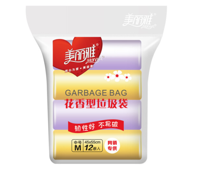 MARYYA 美丽雅 HC057975 花香型垃圾袋 45x55cm 360只
