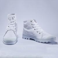 双11预告:PALLADIUM PAMPA D3 Mid 男士帆布鞋