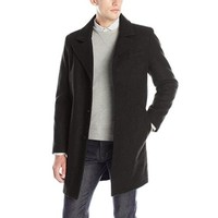 中亚Prime会员:KENNETH COLE New York 男士羊毛大衣