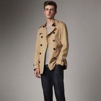 BURBERRY 博柏利 Chelsea 40107191 男士短款风衣 +凑单品