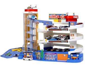 TOMY 多美 430865 多美超级汽车大楼(含1辆小车)