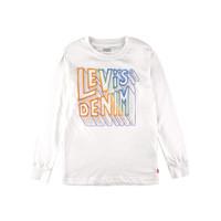 Levi's kids  李维斯白色带英文 大男童运动套头衫 7-10岁 *5件