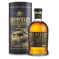 Aberfeldy 艾柏迪 12年苏格兰东高地单一麦芽威士忌 700ml