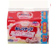 pigeon 貝親 嬰兒濕巾 乳液濕巾紙66片x6包(補充裝) *3件