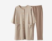 網易嚴選 日式月子服哺乳衣套裝