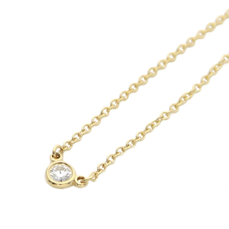 Tiffany&Co. 蒂凡尼 18K金 钻石项链(0.05ct)
