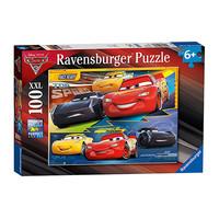 中亚Prime会员:Ravensburger 睿思 汽车总动员拼图 100片