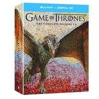 2017黑五:《权利的游戏》Seasons 1-6 电视剧 Blu-ray 蓝光影碟