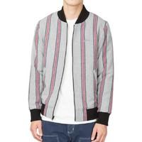 STUSSY Wool Stripe 男士羊毛夹克