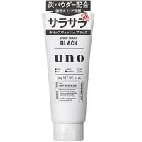 2017黑五、凑单品:SHISEIDO 资生堂 UNO 吾诺 WHIP WASH BLACK 男士洗面奶 130g