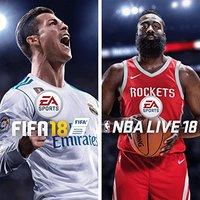 《FIFA 18 + NBA Live 18》PS4 数字版游戏合集