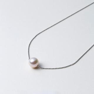 Maria Akoya珍珠 9mm S925银制珍珠项链