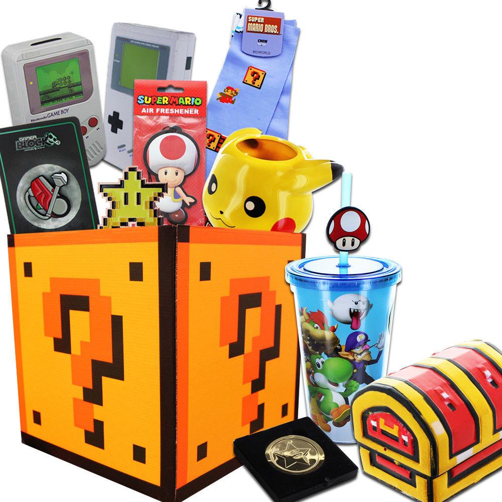 Super Mario Bros 超级马里奥x任天堂 神秘礼盒