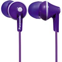 松下(panasonic) RP-HJE125GK 多彩入耳式耳机 亮面散射6色可选 紫色