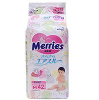 Merries 妙而舒 三倍透氣紙尿褲 M42片