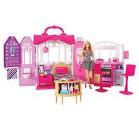 Barbie 芭比 CFB65 芭比闪亮度假屋 +凑单品