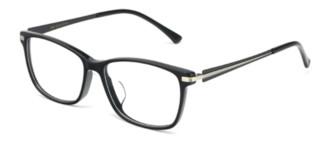 HAN HD4956 板材 光学眼镜架 + 1.60翡翠绿膜非球面树脂镜片