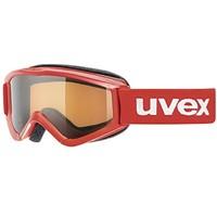 中亚Prime会员: UVEX 优维斯 speedy pro S553819 青少年款 滑雪眼镜 红色