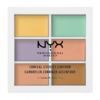 NYX Professional Makeup 6色修容遮瑕盤