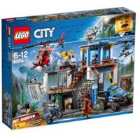 LEGO 樂高 CITY 城市系列 60174 山地特警總部