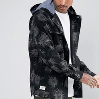 VANS 4 Pocket Palm Print Coat 男款连帽夹克