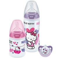 NUK 宽口PP奶瓶+安抚奶嘴组合装 *2套