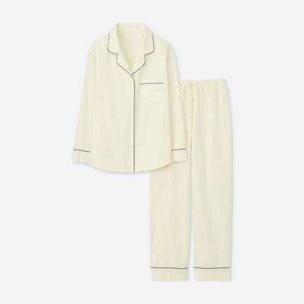 UNIQLO 优衣库 406684 女款全棉睡衣