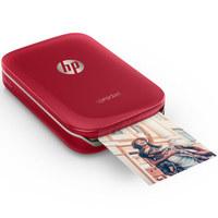 HP 惠普 小印 Sprocket 100 口袋照片打印机  红色