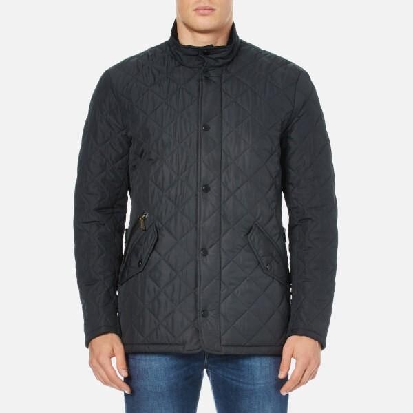 Barbour Chelsea Sportsquilt 男款绗缝夹层夹克