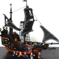 GUDI 古迪 积木拼装玩具船 黑珍珠号