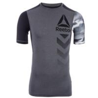 限小码:Reebok 锐步 Activchill Compression 男士紧身运动T恤 *2件