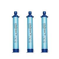 LifeStraw 生命吸管 Personal Water Filter 生存净水吸管 3个装