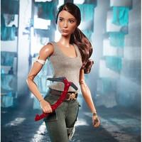 新品发售:Barbie 芭比 古墓丽影 劳拉娃娃