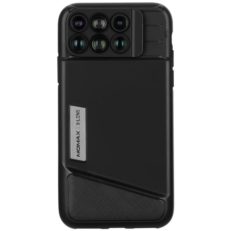 Momax 摩米士 iPhoneX 广角鱼眼6合1镜头拍照手机壳