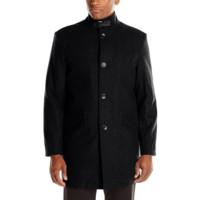 限L码:KENNETH COLE NEW YORK 羊毛混纺 Walker 男士大衣