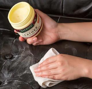 OAKWOOD 经典全效皮革护理膏 350ml+皮革深层护理清洁剂 500ml