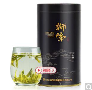 狮峰牌 西湖龙井茶 明前特级 50g/罐