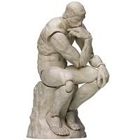 figma 桌上美术馆系列 思想者 BS&PVC制 涂装完成可动手办