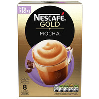 Nestle 雀巢 金牌 摩卡速溶咖啡 22g*8条 *11件