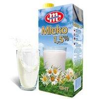 Mlekovita 妙可 低脂进口牛奶 1L*12盒*2箱+Hospitality 莓果味麦片 198g