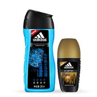Adidas 阿迪达斯 沐浴露250ml+走珠香体液50ml