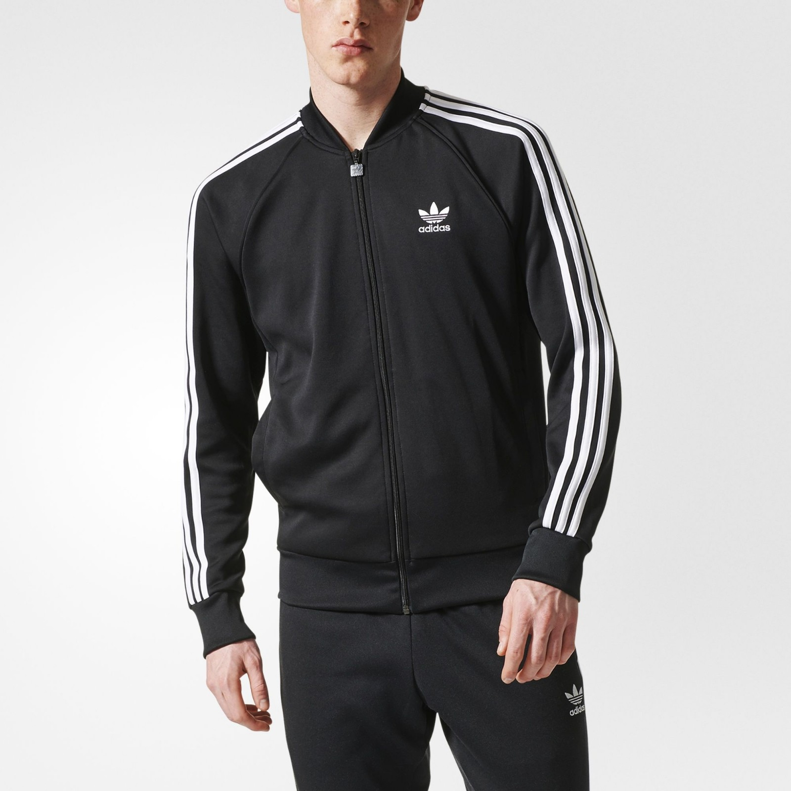adidas 阿迪达斯 original SST Track 男士运动夹克