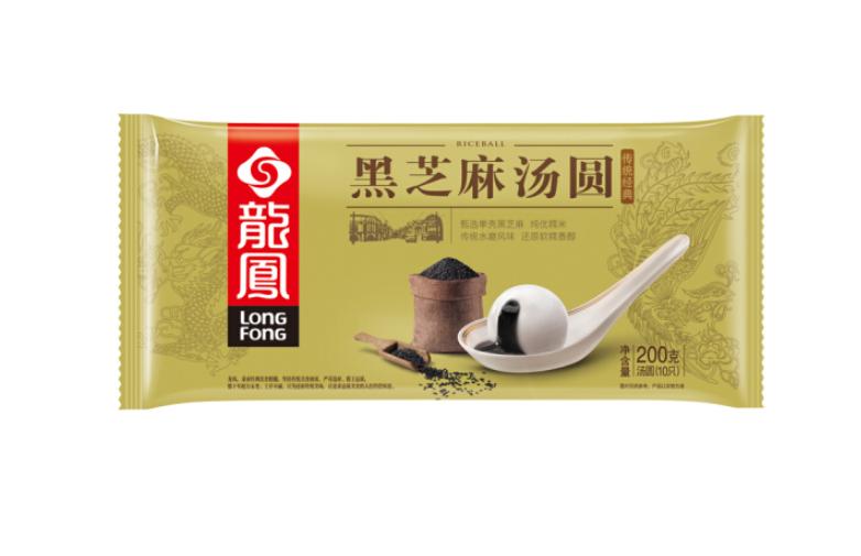龙凤食品 经典黑芝麻汤圆 200g
