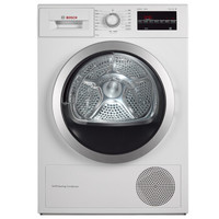 28日0点:BOSCH 博世 WTW875600W 热泵式干衣机