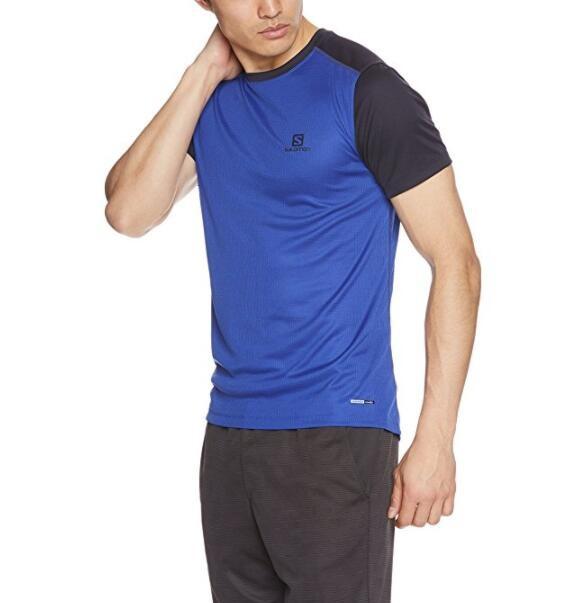 Salomon 萨洛蒙 STROLL SS TEE 男士运动短袖T恤