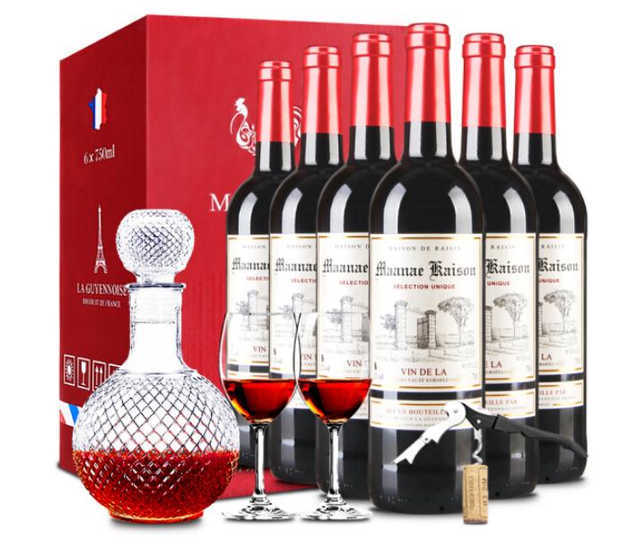MAANAE 曼拉维 凯旋干红葡萄酒礼盒 750ml*6瓶